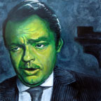 Self Portrait as Orson Welles #1