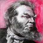 Self Portrait as Orson Welles #5